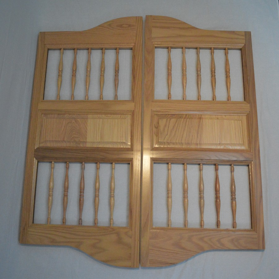 Cottage Spindles Finish Door