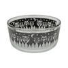 Pyrex 7201 4 Cup Black Owl Glass Bowl w/ 7201-PC Pink Lid