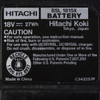 Item detail for Hitachi BSL1815X compact lithium ion battery