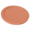 Pyrex 7201-PC Orange, White, & Light Blue Replacement Lids - 3 Pack