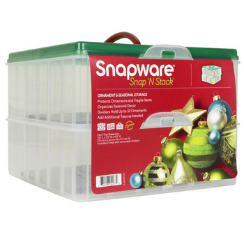Snapware Snap N' Stack two layer ornament holder