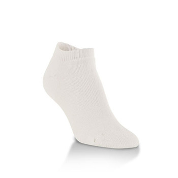 World's Softest White Unisex X-Large Low Cut Socks