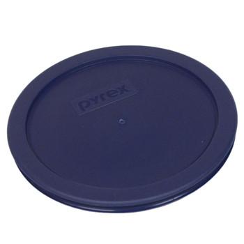 Pyrex 7401-PC Dark Blue 3 Cup, 750mL Round Plastic  Lid