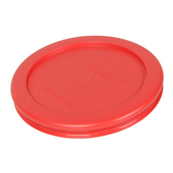 Pyrex 7202-PC Red 1 Cup, 236mL Round Storage Lid