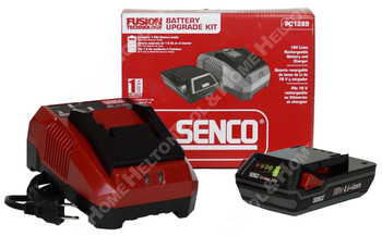 Senco PC1289 18V Li-Ion Rechargeable Battery & Charger Kit