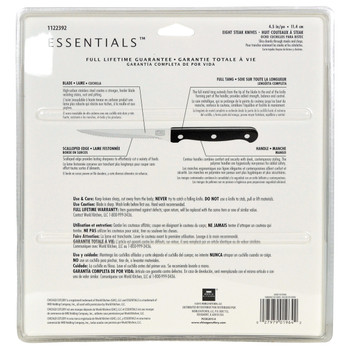 "Chicago Cutlery Essentials 4.5"" Serrated Steak Knife Set Guide"