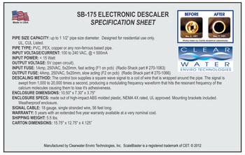ScaleBlaster SB-175 Residential Alternative Water Softener Unit