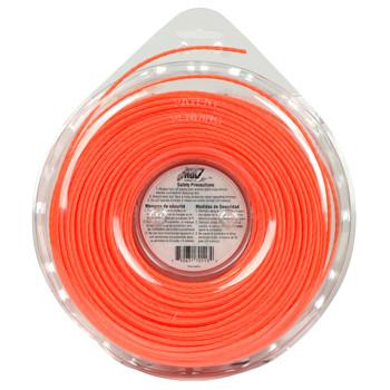 "LoNoiz LN095DLG 0.095"" 285ft Orange String Trimmer Line Made in USA"