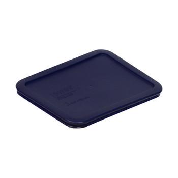 Pyrex 7210-PC Dark Blue 3 Cup, 750mL Rectangle Plastic Lid
