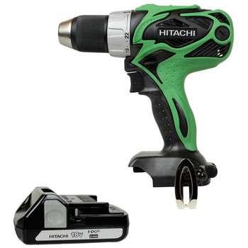 Hitachi DS18DSAL 18V 1/2in Drill Driver and BSL1815X 18V Battery