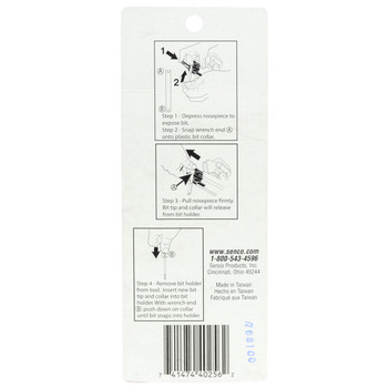 Senco EA0142 #2 Phillips Duraspin Drive Bits - 5 Pack