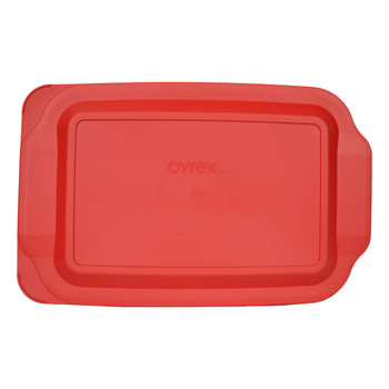 Pyrex 233-PC Red 9 x 13 Rectangle Plastic Replacement Lid