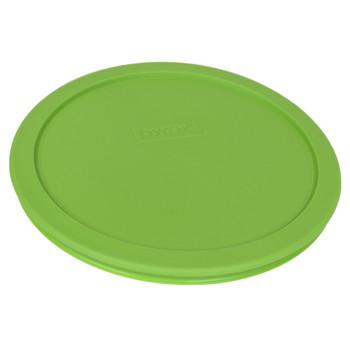 Pyrex 7402-PC Green 7201-PC Edamame 7200-PC Lawn Green Round Plastic Lids - 3 Lids