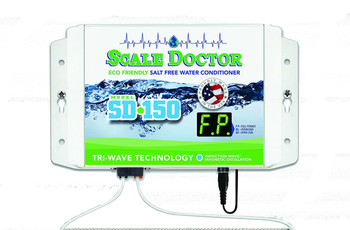 Scale Doctor SD-150 7.5V Dual Coil Salt Free Water Conditioner Unit