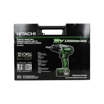 Hitachi DS10DFL2 10.8/12V Lithium Ion Drill Driver Kit