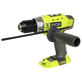 """Ryobi Tools P214 18V 1/2"""" Cordless Lithium Ion Hammer Drill Driver, Tool Only"""