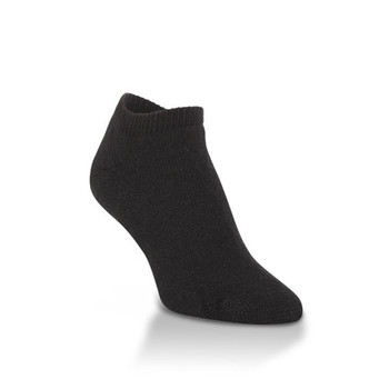 World's Softest Classic Collection Black X-Large Low Cut Socks