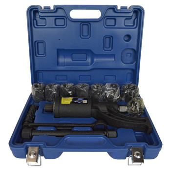 "HTH 1"" Wheel Lug Nut Wrench Torque Multiplier 8 Socket Set"