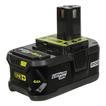 Ryobi Tools P117 18V ONE+ Charger and (1) P197 18V 4.0Ah Lithium-Ion Battery
