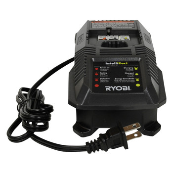 Ryobi Tools P118 18V ONE+ Charger and (2) P197 18V 4.0Ah Lithium-Ion Batteries