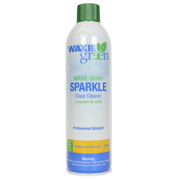 Waxie Green 16 Oz Professional Strength Sparkle Glass Cleaner