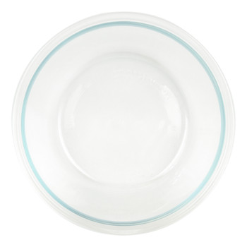 Pyrex Pro Storage Deluxe 8201 Round Clear Glass Mixing Bowl