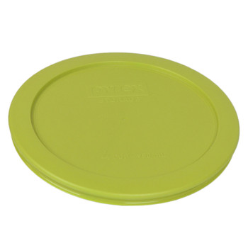 Pyrex 7201-PC (1) Turquoise, (1) Edamame Green and (1) Yellow Lid