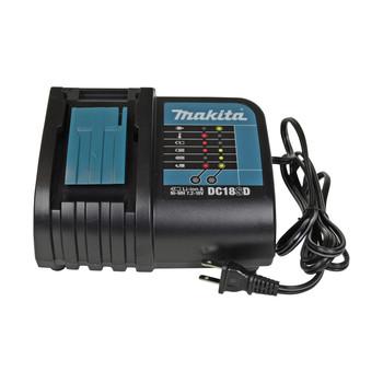Makita DC18SD 7.2-18V Li-Ion/NiMH Standard Battery Charger