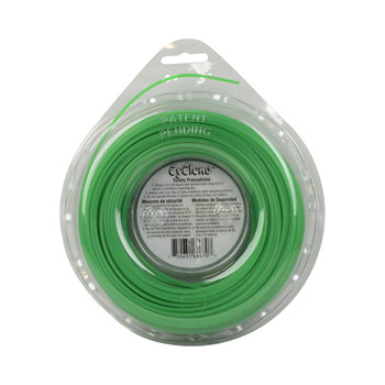 "Cyclone CY080D1/2 0.080"" 200ft Green Commercial Trimmer Line Made in USA"