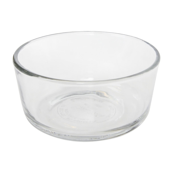 Pyrex Simply Store 2 Cup Round Clear Glass Storage Bowl
