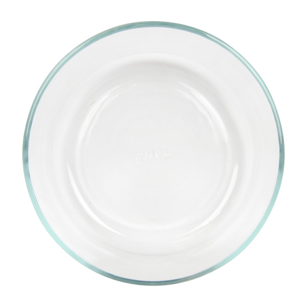 Pyrex clear glass storage bowl holds 7 cups