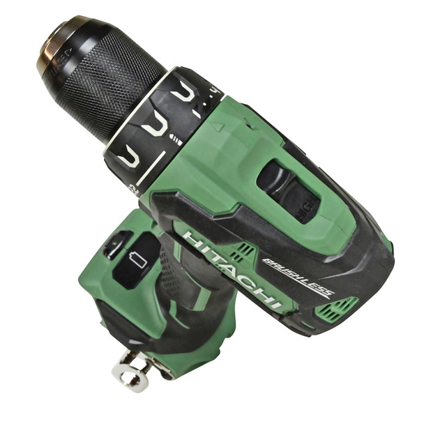 Hitachi 18v drill driver with 2-speed transmission