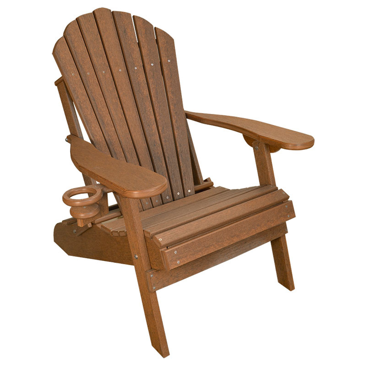 Deluxe Outer Banks Adirondack Chair   Antique Mahogany