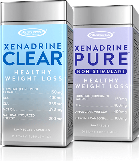 Xenadrine Clear & Xenadrine Pure