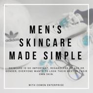 Men's Skincare Made Simple