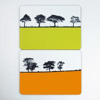 Jacky Al-Samarraie Yorkshire Landscape Table Mat Set