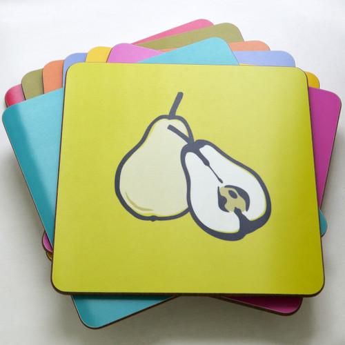 Jacky Al-Samarraie Fruit Table Mat Set of Eight