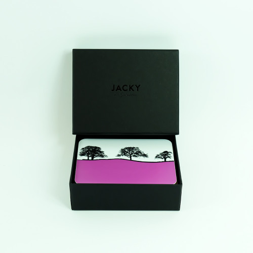 Set of 8 Landscape Coasters with Luxury Black Gift Box- Jacky Al-Samarraie