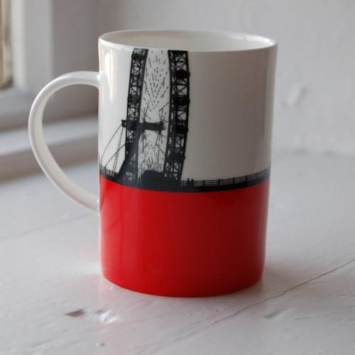 Jacky Al-Samarraie London Eye Bone China Mug - Slight Second