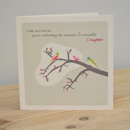 Jacky Al-Samarraie Daughter Adoption Card