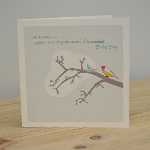 Jacky Al-Samarraie Baby Boy Greeting Card