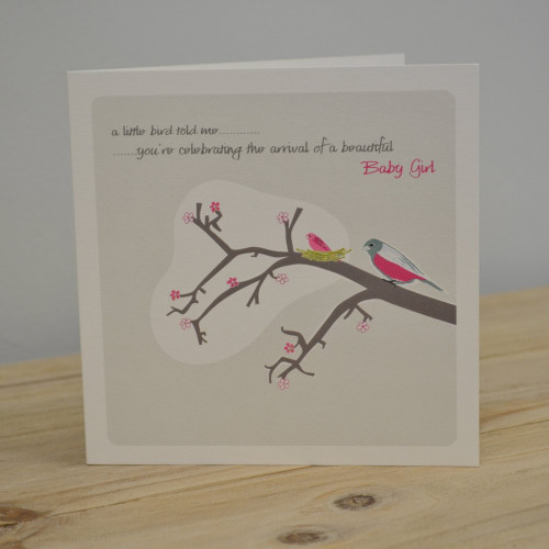 Jacky Al-Samarraie Baby Girl Greeting Card