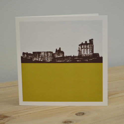 Jacky Al-Samarraie Tynemouth Priory Greeting Card
