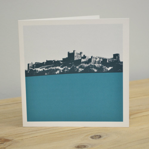 Jacky Al-Samarraie Bamburgh Castle - Northumberland Greeting Card