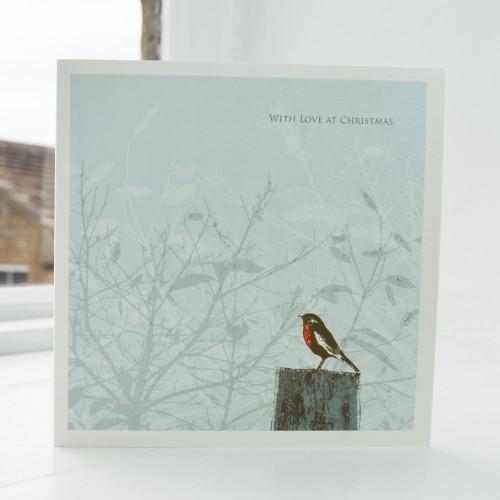 Jacky Al-Samarraie Bird Garden Christmas Card BG-CH-02
