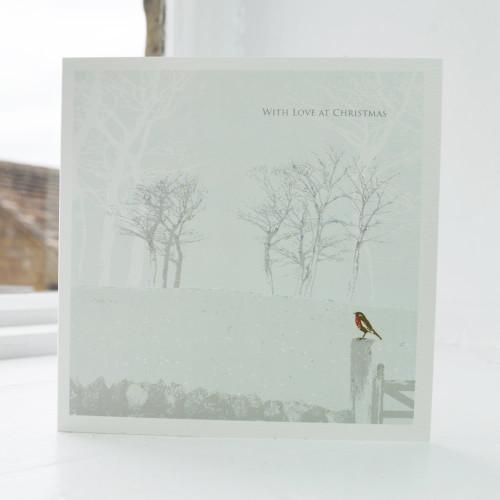Jacky Al-Samarraie Bird Garden Christmas Card