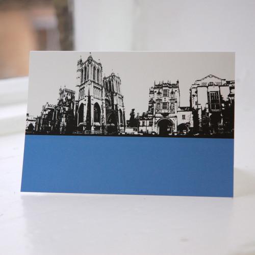 Jacky Al-Samarraie Bristol Cathedral Greeting Card
