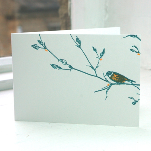 Jacky Al-Samarraie Garden Bird Greeting Card