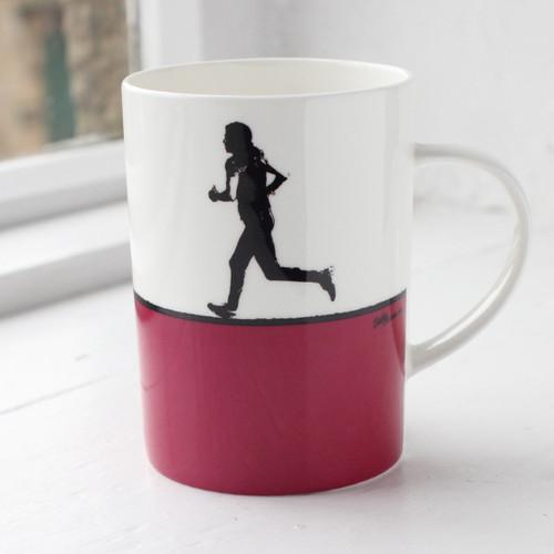Jacky Al-Samarraie Running Bone China Mug