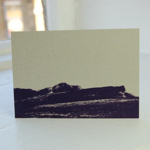 Jacky Al-Samarraie Arthur's Seat Postcard